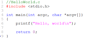 MinGW-HelloWorld